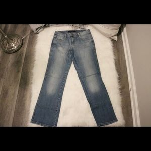 Calvin Klein Light Washed Ultimate Bootcut Jeans